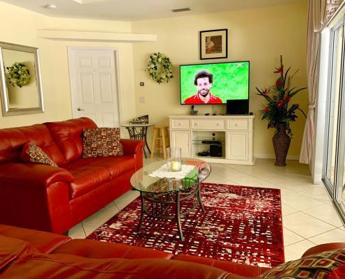 Villa FloridaDream Living Room