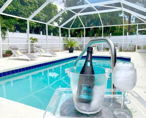 Villa FloridaDream Privater Pool mit Cage