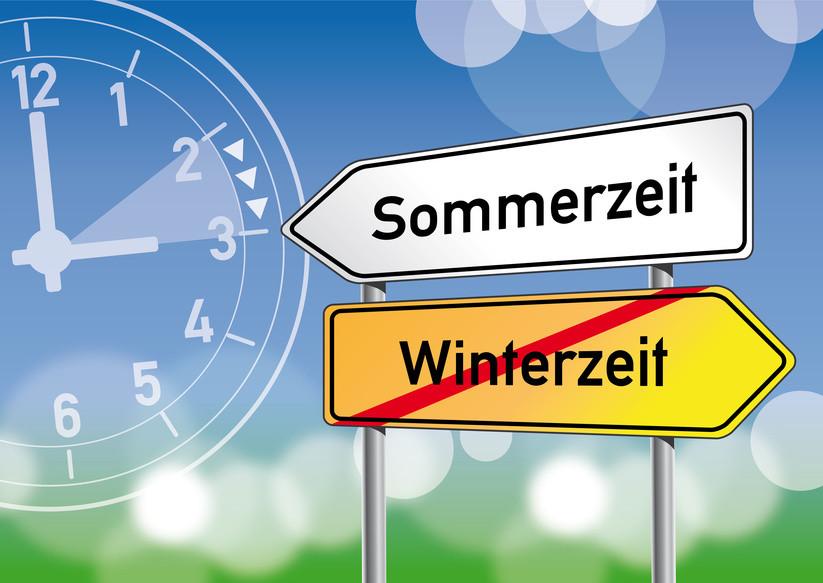 Sommerzeit, Winterzeit, Zeitumstellung, Uhr