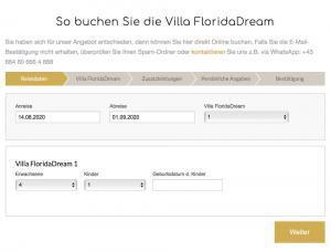 Villa FloridaDream Buchen