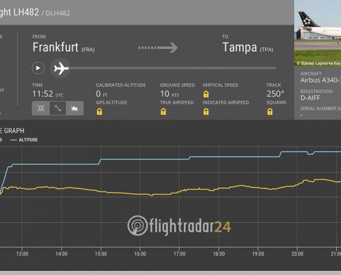 Villa FloridaDream Flug Frankfurt Tampa Florida